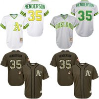 mitchell and ness - Grey White Throwback Rickey Henderson Jersey Men s Mitchell And Ness Oakland Athletics