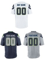 Wholesale Cheap Seahawks customize high quality embroidery football elite jerseys any name and ang number RAWLS BALDWIN