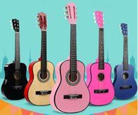 Wholesale 30inch wooden folk classical guitar professional beginner students teaching Essential Multicolor optional travel play mysterious gifts