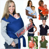 Wholesale Mo by Wrap Infant Carriers Baby Breastfeed Slings Baby Wrap Carrier Backpacks Sleeping Bag Swaddle Kid Breastfeeding Cotton Hipseat B121