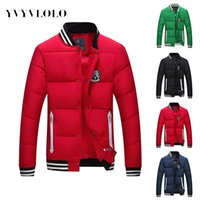 Wholesale Fall YVYVLOLO Male Coat Campera Hombre Invierno Men s Winter Jacket Men Jaqueta Masculina Mens Down Jacket Parka Men Parka
