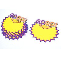 Wholesale quot GOOD quot Pattern Store Pop Price Tags Sign for Promotional Product