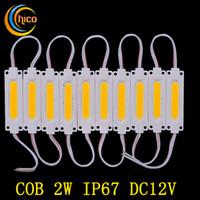 Wholesale Injection COB LED module light lamp DC12V W COB IP65 waterproof LED back light backlight of LED light module LED lights