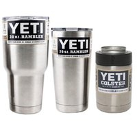 Wholesale Hot YETi Cup Stainless Steel Oz Yet Cups Cooler Vehicle Beer Mug Bilayer Vacuum Insulated Metal Cup