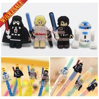 bead pens wholesale - 4PCS The Avengers Star Wars Legos Super Hero Cartoon Pen Pencil Accessories Cap Thor Pen Topper Charm Fashion Jewelry Kids Gifts