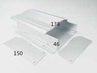 aluminum extrusion products - Customized T3 T8 Temper Chinese factory high quality aluminum products Length Aluminum box Aluminum Extrusion Box