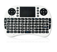 Wholesale Air Mouse Keyboard Mini Wireless ghz English Keyboard Remote Control Touchpad Android TV Box MXQ Pro T8 M8S Unique Double Mouse Designs