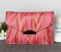 Cheap Handbags Lady bags 2016 bags Fashion hand Envelope package portable Shoulder Messenger Cowhide Handbag Dinner clutch packet Shoulder bag