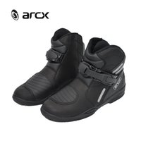 Wholesale New ARCX Motorcycle Boots Motocross Racing Speed Motorbike shoes Moto Boot Motorcycles Boots Men dirt bike Cycling Sports Bootie