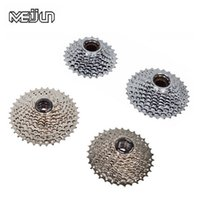 Wholesale MEIJUN Mountain Bike Rotating Freewheel Card Type Flywheel Speed T Bicycle Cassette Freewheels