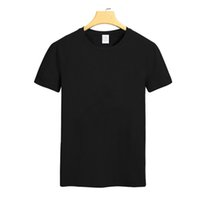 best fitting t shirt - Men s Chic Pure Color Short sleeved T shirt Fitted Pure Cotton Customizable Round Neck Short sleeve Shirt Clothes Best Selling Color