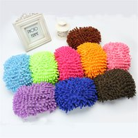 Wholesale One Multifunctional Chenille Shoe Covers Clean Slippers Lazy Drag Shoe Mop Caps