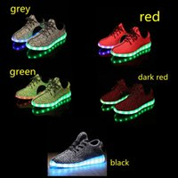 aa fabric colors - Led Light Up Air Mesh Sneakers for Adults Flashing Glow Lighting Shoes for Men Women with USB Charger Changing Colors Footwears
