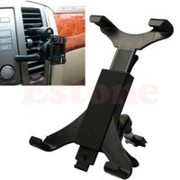 Wholesale For Universal Black Car Holder Air Outlet Stent Vent Mount Holder For iPad Tablet PC