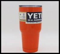 big oz - Hot Sale YETI Rambler Cup oz big capacity beer car YETI Cups Cars Beer Mug Large Capacity Mug Tumblerful DHL