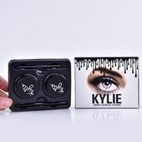 Wholesale Kylie Jenner Eyeliner Gel Waterproof Makeup Eye Liner Gel Cosmetics Make Up Black Brown Colors MR225
