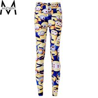 animations hot pants - New Hot Women Sport Pants Womens Trousers Fashion Minions Cartoon Animation Pant Capris Cute sportswear Fitness S106
