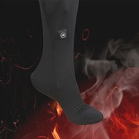 safety clothing - Carbon Fiber Heat Socks Warm Cold Ski Sock Apparel Thermal Conductivity Cold Resistance Clothing Safety Waterproof Costume