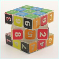 Wholesale Professional Games Magic Cube Hellocube No Sticker New Cube Toys Puzzle Magic Game Toy Adult Children Educational Toys Kids Xmas Gift