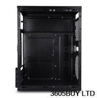 Wholesale American mini itx motherboard small computer case ion mini htpc car pc black
