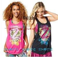 fitness tank tops - 2016 new Yoga fitness sportswear female flowers vest top Yoga vest Fashion vest Sports vest T1133