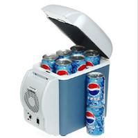 auto refrigerators - 7 L car refrigerator V auto Trucks universal Portable cooling heating Preservation Box car fridge big size