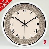 baroque wall clock - Rome simple living room watch European Baroque quartz clock wall clock OC