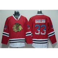 athletic wear usa - Blackhawks darling Red Jersey Brand Ice Hockey Jerseys USA National Flags Edition Fashion Hockey Wear Athletic Outdoor Apparel for Men