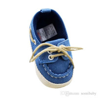 baby crib sizes - 3 pairs Baby Boy Girl Blue Sneakers Soft Bottom Crib Shoes Size Newborn to Months