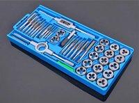 Wholesale Manual thread wire tapping wrench tap die Set steel hinge twist hand machine round die Set
