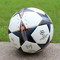 Wholesale Match Football Soccerball Soccer Euro Champions League Antiskid Competition Training NO Soft Skin Particles Battle The Rees