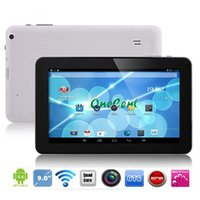 Wholesale 9inch Tablet PC A33 Quad Core Dual camera with Bluetooth Android Tablet PC MB GB WIFI