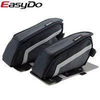 bicycle light vehicles - Easydo Tb9 Vehicle Pack Mtb Bicycle Frame Road Bike Bag Triangle Bag Light Rain Reflective Safety Riding Essential Goods