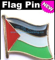 Wholesale Palestine Flag Badge Metal Pin Flag badge country flag badges military flag badges flag badge pin
