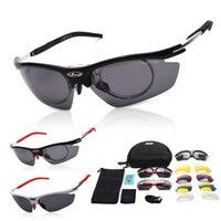 Wholesale 2016 Hot selling ciclismo Polarization UV400 Bicycle Cycling Glasses Outdoor Sports Sunglasses Ski Goggle lenses Oculos De Sol