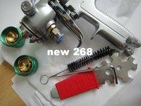 Wholesale SAT1189 Double Nozzle Spray Gun High Pressure Car Paint Tool