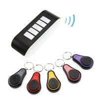 Wholesale 5 in Remote Wireless Key Wallet Finder Receiver Lost Thing Alarm Locator Track mobile phone wallet anti lost alarm