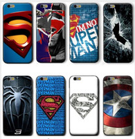 assorted spiders - Marvel Hero Collection Captain America Joker Iron Man Spider Man Assorted Designs For iPhone S Case
