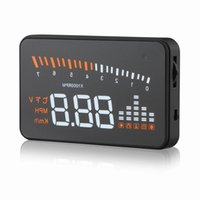 automobile speedometer - Car styling GPS speedometer Automobile X5 quot Windshield Project Car hud head up display Digital car speedometer