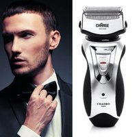 Wholesale Men s Rechargeable Electric Shaver Double Mesh Blades Razor Groomer US Plug Hot Selling