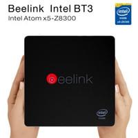 Wholesale BEELINK BT3 Set Top TV Box Intel MINI PC NUC Bit Inte Quad Core G C Disk GB D Disk Windows