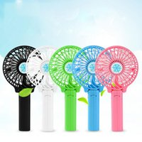 Wholesale Mini Ventilador Ventiladores Small Fan Handheld Portable Mini Usb Rechargeable Brought with Big Wind Handle The Student s Dormitory