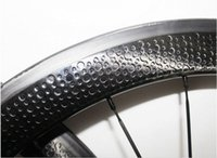 bicycle custom wheels - bicycle road wheels Clincher mm Carbon Wheelset Dimple Surface Full Carbon Road Bike Wheels Accept Custom Decal