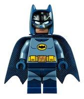 batman classic toys - Batman Bruce Wayne Classic TV Series Batcave Super Heroes Minifigures Assemble Model Building Blocks Kids Toys Gift