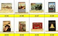 american plaque - Hot sales motorcycle Tin signs Retro decoration House Cafe bar Vintage Metal plaque Painting Poster decor X30 CM