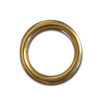 horse tack - 6pcs pack Solid Brass heavy O Rings mm to mm seamless BUCKLE horse rug saddles tack anti rust bag parts accessories
