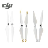 Wholesale Original DJI Self tightening Propellers Composite Hub White With Gold Stripes For DJI Phantom Phantom E310 E305 E300