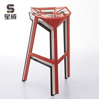 aluminum cafe chairs - Continental aluminum bar chair stool highchair home restaurant Leisure Cafe Bar seats