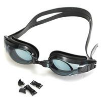 Wholesale Multi Prescription Optical Myopia Nearsight Goggle Glasses Sportswear Silicone Polycarbonate Lens Anti fog Coated Watertight
