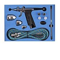 airbrush painting cars - Single action Trigger Air paint Control Airbrush Kit mm mm mm Needle Air Brush Spray Gun Car Paint Art CC CC CC SP166AKTH